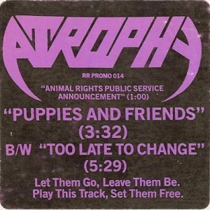 Atrophy - Puppies and Friends cover art
