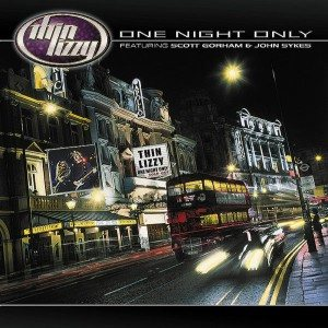 Thin Lizzy - One Night Only cover art