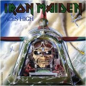 Iron Maiden - Aces High cover art