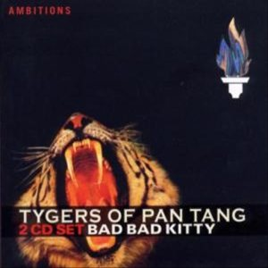 Tygers Of Pan Tang - Bad Bad Kitty cover art
