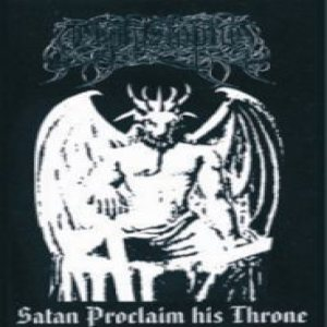 Mephiztophel - Satan Proclaim His Throne cover art