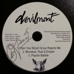Devilment - Demo 2013 cover art