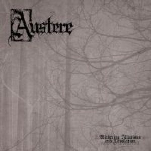Austere - Withering Illusions and Desolation cover art