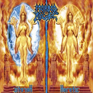 Morbid Angel - Heretic cover art