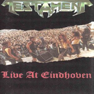 Testament - Live At Eindhoven cover art