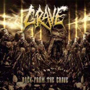 Grave - Back From the Grave cover art