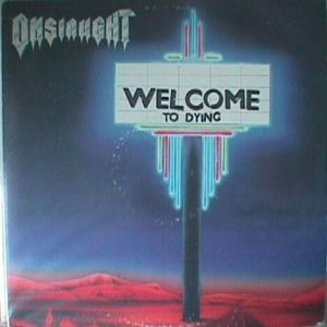 Onslaught - Welcome to Dying cover art