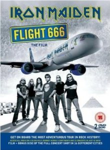 Iron Maiden - Flight 666 cover art