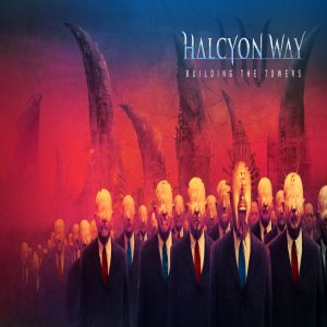 Halcyon Way - Building the Towers cover art