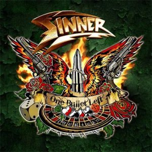 Sinner - One Bullet Left cover art