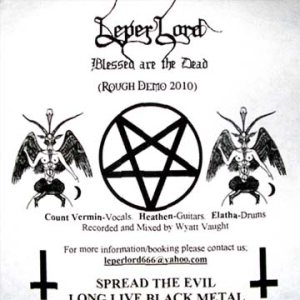 Leper Lord - Blessed are the Dead (Rough Demo 2010) cover art