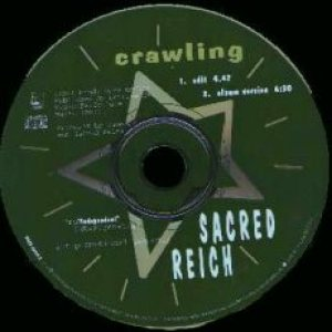 Sacred Reich - Crawling cover art