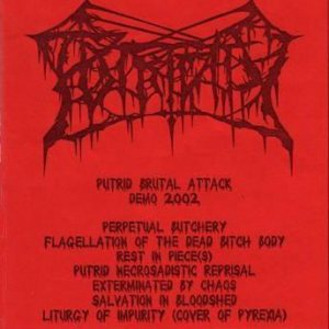 Putridity - Putrid Brutal Attack cover art
