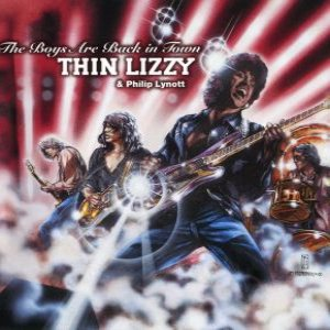 Thin Lizzy - Boys Are Back in Town cover art