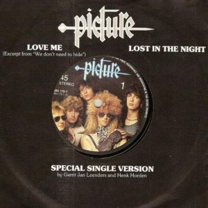 Picture - Love Me / Lost in the Night cover art