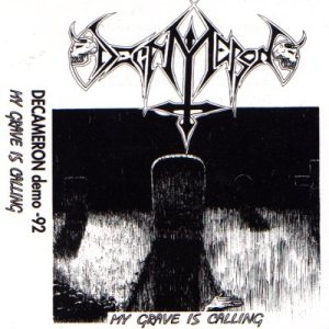 Decameron - My Grave Is Calling cover art