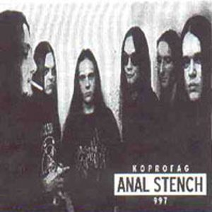 Anal Stench - Koprofag 997 cover art