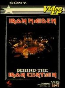 Iron Maiden - Behind the Iron Curtain cover art