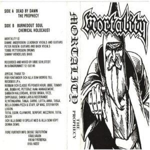 Mortality - The Prophecy cover art