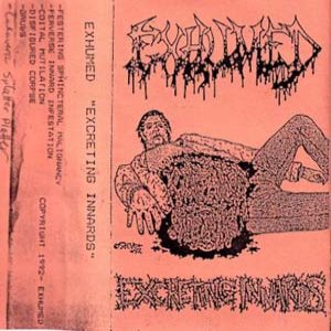 Exhumed - Excreting Innards cover art