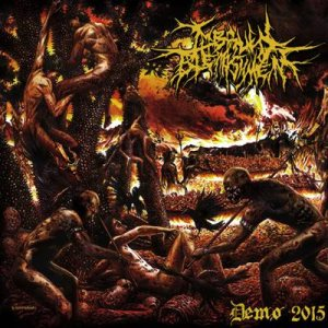 Imbrued Blemishment - Demo 2015 cover art