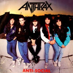 Anthrax - Anti-Social cover art