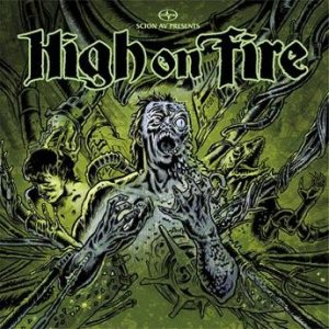 High on Fire - Slave the Hive cover art