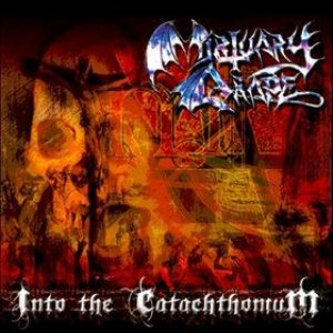 Mortuary Drape - Into the Catachthonium cover art