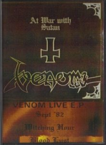 Venom - Live E.P. cover art