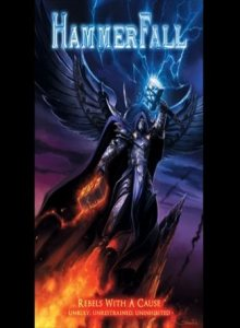 Hammerfall - Rebels With a Cause - Unruly, Unrestrained, Uninhibited cover art