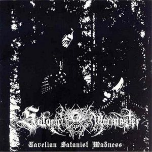 Satanic Warmaster - Carelian Satanist Madness cover art