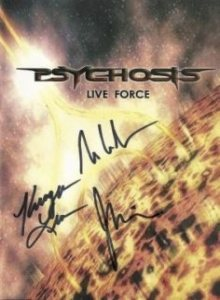 Psychosis - Lifeforce cover art