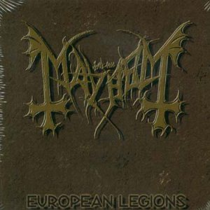Mayhem - European Legions cover art