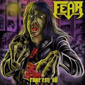Fear - Rage'em All cover art