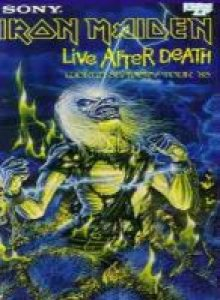 Iron Maiden - Live After Death cover art