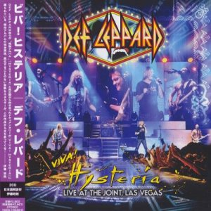 Def Leppard - Viva! Hysteria: Live at the Joint, Las Vegas cover art