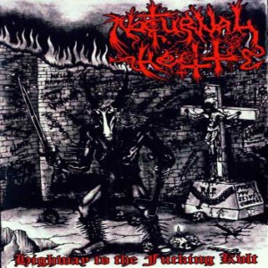 Nocturnal Hell - Highway to the Fucking Kvlt cover art