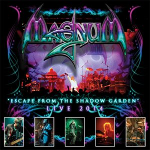 Magnum - Escape From the Shadow Garden - Live 2014 cover art