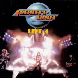 Frehley's Comet - Live + 1 cover art