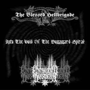 Enthroned Darkness - Into the Void of the Downward Spiral cover art