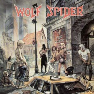 Wolf Spider - Hue of Evil cover art