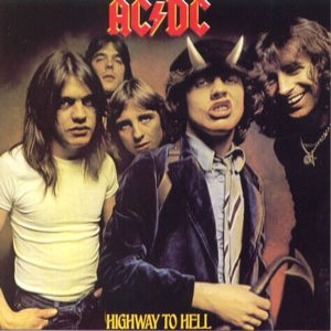 AC/DC - Highway to Hell cover art