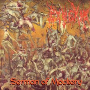 Pyrexia - Sermon of Mockery cover art
