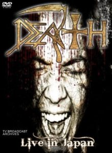 Death - Live in Japan cover art