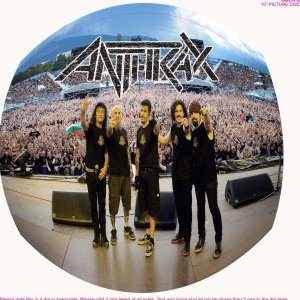 Anthrax - Live At the Sonisphere cover art