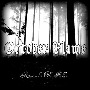 October Flame - Remember the Fallen cover art