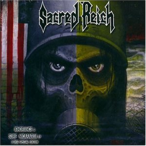 Sacred Reich - Ignorance / Surf Nicaragua cover art