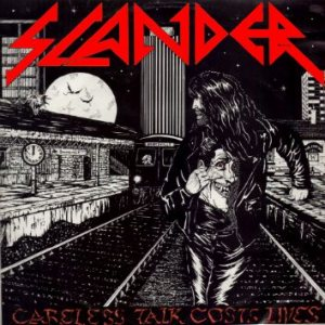 Slander - Careless Talk Costs Lives cover art