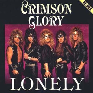 Crimson Glory - Lonely cover art