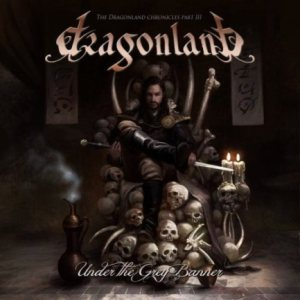 Dragonland - Under the Grey Banner cover art